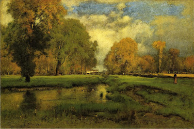 George Inness Autumn Painting