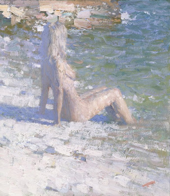 Bato Dugarzhapov, Beach Paintings