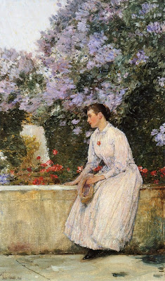 Childe Hassam. In the Garden