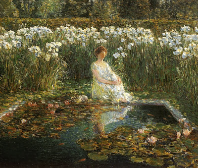 Childe Hassam. Oil Painting