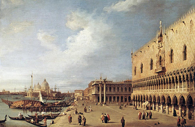 Paintings of Venice by Canaletto