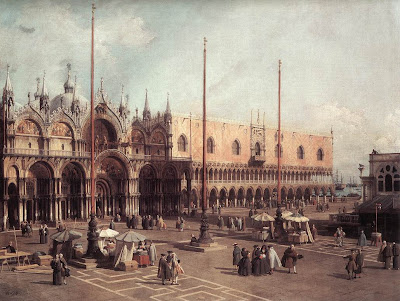 Canaletto. Piazza San Marco.