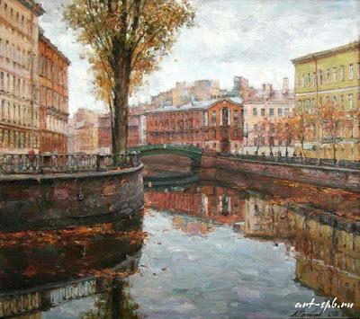 Saint Petersburg. Oil Paintings