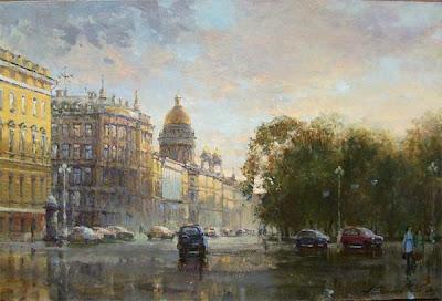 Saint Petersburg in Painting