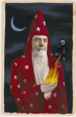 Alex Gross. The Sorcerer