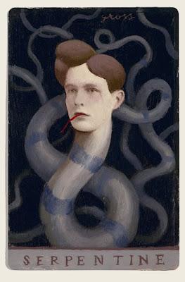 Alex Gross. Serpentine