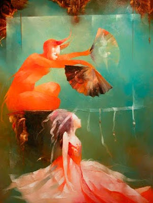 Anne Bachelier's Oil Painting