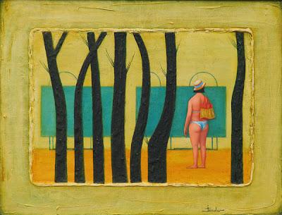 Yuri Abisalov's Oil Painting