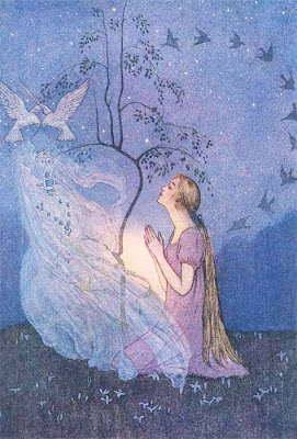 Elenore Abbott's Illustration. Cinderella