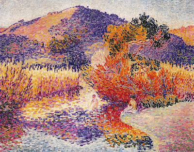 Henri Edmond Cross. River in Saint-Cir, 1908