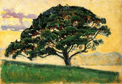 Paul Signac. Pine in St. Tropez