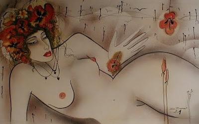 Paintings by Ivana Barazi. Czech Artist