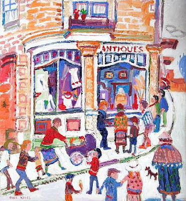 Fred Yates. Antique Shop on the Corner