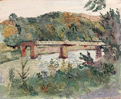 Fred Yates. Railway Bridge