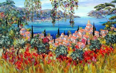 Duaiv. Panorama of Saint Tropez