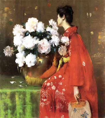 William Merritt Chase. Spring Flowers