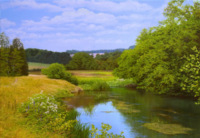 Michael James Smith. Summer in Cotswold