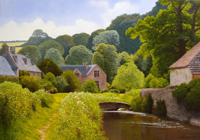 Michael James Smith. Upper Slaughter