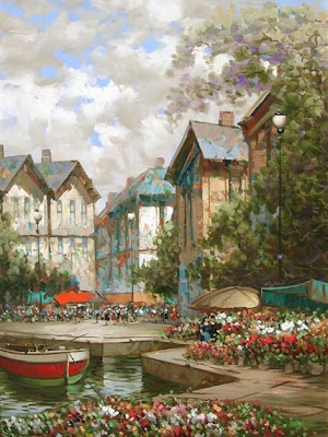 Paintings by C. Pierre Latour