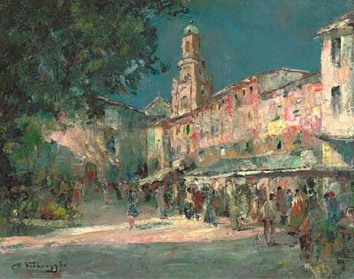 Oil Paintings by Charles Verbrugghe, Belgian Artist