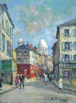 Painting by Charles Verbrugghe, Belgian Artist