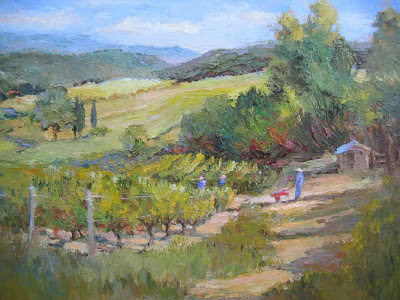 Landscape Painting by Artist Susan Astleford
