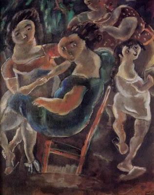 Jules Pascin. Gossip Girls, 1924