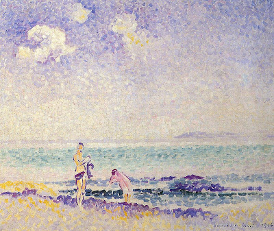 Bathers by Henri Edmond Cross