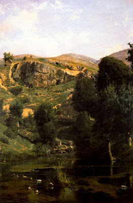 Landscapes by Casimiro Sainz y Saiz