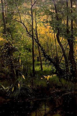 Landscape Paintings by Casimiro Sainz y Saiz