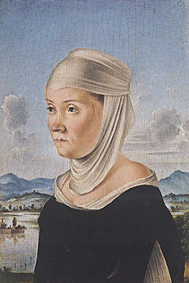 Portraits of  Women of Italian Renaissance. Jacometto Veneziano