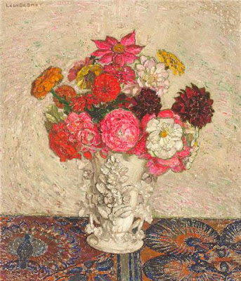 Leon De Smet. Bouquet of Flowers