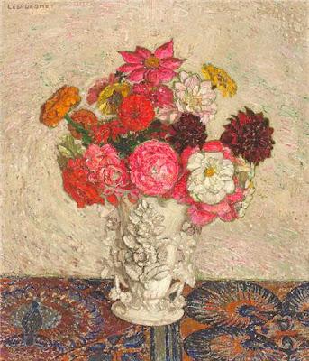 Leon De Smet. Bouquet of Flowers