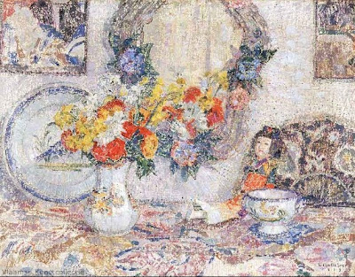 Leon De Smet. Still Life with Porcelain