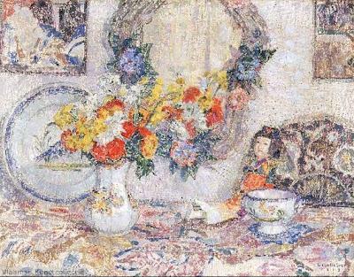 Leon De Smet. Still Life with Porcelain