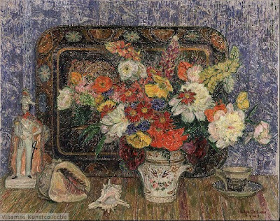 Leon De Smet. Still Life with Flowers