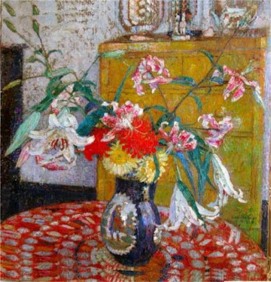 Leon De Smet. Still Life with Flowers in a Vase