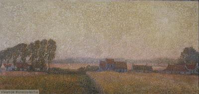 Leon De Smet. Landscape in St-Martens-Latem, 1905