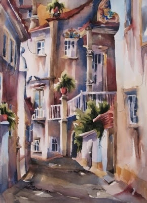 Watercolors. Portugal. Jinnie May