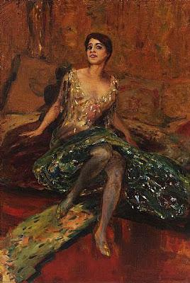 Albert von Keller. Soprano Hermine Bosetti, 1913