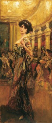 Albert von Keller. In the Ballroom