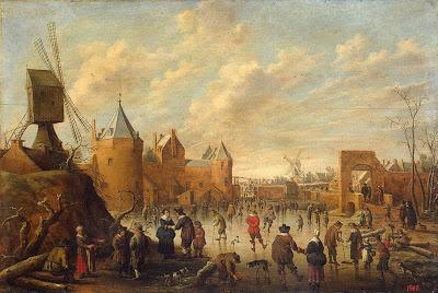 Painting by Dutch Painter Joost Cornelisz Droochsloot