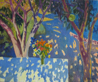 Paintings by Russian Artist Ekaterina Reutova. Sunbeams