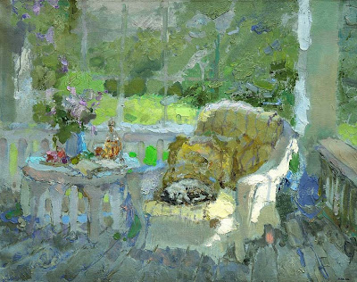 Impressionist Painting by Zhang Jing Sheng