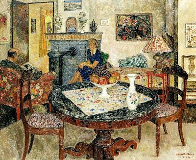 Leon De Smet's Painting. Interior