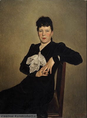 Belgian Artist Leon De Smet. Portrait of a Woman