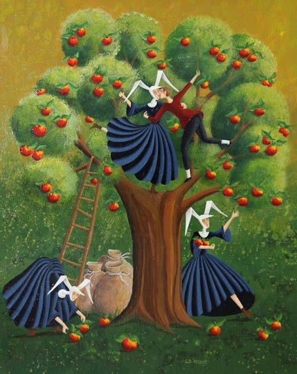 Carole Perret Art Naive