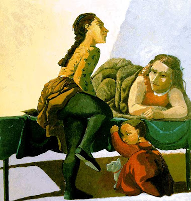 Painting by Paula Rego. Portuguese Artist