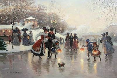 Winter Painting. Christa Kieffer