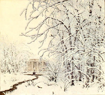 T.F.Simon. Winter Painting